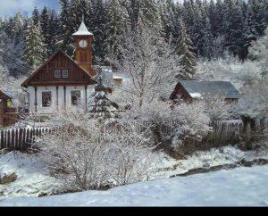 Casa cu ceas din Tulghes
