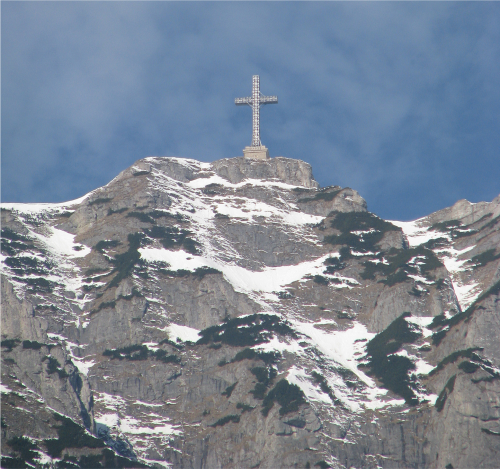 bucegi mountains cross caraiman