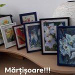Mǎrțișorul, simbolul primǎverii ȋn viziunea plasticǎ a pictoriței Morozan Coca Elena