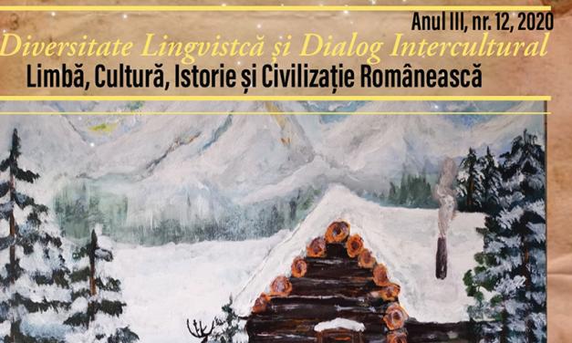 REVISTA ORIENT ROMANESC EDITIA TIPARITA din luna Decembrie2020