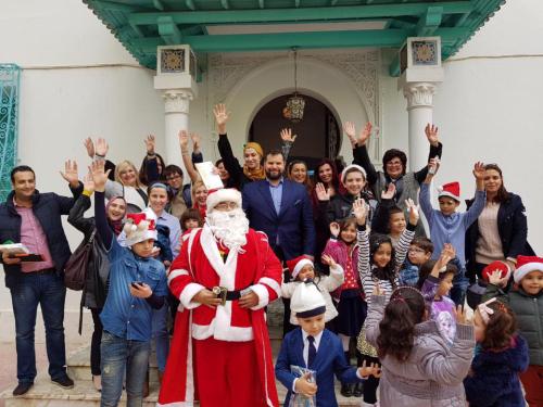 Sarbatoarea Craciunului in Tunisia