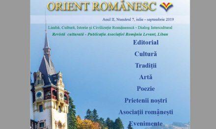 Revista ORIENT ROMANESC-anul II nr.7