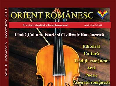 Revista ORIENT ROMANESC, anul II nr.8