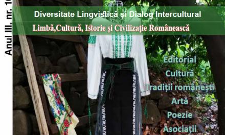 REVISTA ORIENT ROMANESC EDITIA TIPARITA DIN LUNA iunie 2020