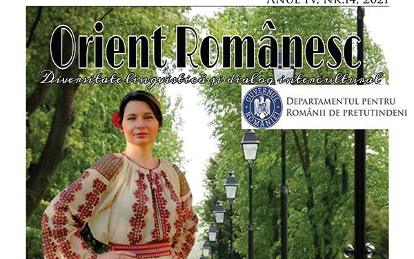 REVISTA ORIENT ROMANESC EDITIA TIPARITA DIN LUNA IUNIE 2021